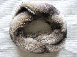 H&M Écharpe ronde gris clair-gris