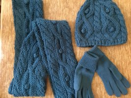 Ergee Knitted Scarf cadet blue