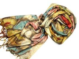 Pashmina multicolored wool