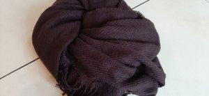 Pieces Bufanda de lana taupe