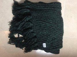 Roeckl Bufanda de punto verde oscuro
