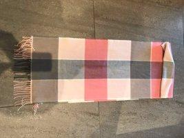 Fraas Bufanda de flecos rosa