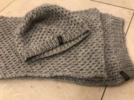 Cinque Knitted Scarf light grey-grey