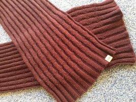 Levi's Gebreide sjaal bordeaux-karmijn