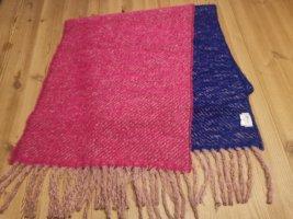 Minx Woolen Scarf pink-blue