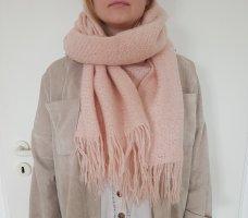 Peek & Cloppenburg Sjaal met franjes lichtroze