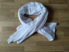 keine Écharpe d'été blanc tissu mixte