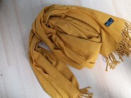 Schal Winter Winterschal XL Senf