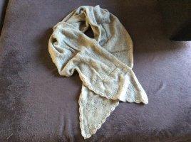 H&M Bufanda de lana color plata-gris claro Lana