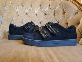 Sí Hook-and-loop fastener Sneakers black