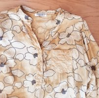 Zabaione Long Sleeve Blouse sand brown-pale yellow