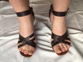 3 Suisses Hoge hakken sandalen bruin Leer
