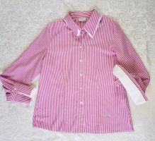 Long Sleeve Blouse pink-white