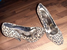 Schicke Highheels in Leoparden Optik