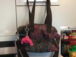 Kipling Handtas zwart-roze
