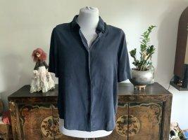 Zadig & Voltaire Jedwabna bluzka ciemnoniebieski-czarny Jedwab