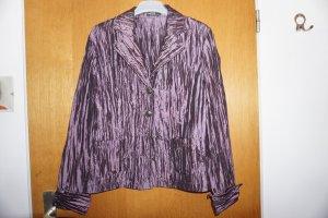 Schicke lila schillernde Vintage Jacke Blazer von Brunetti Gr.38