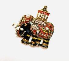 """Schicke Luxus Statement Brosche """"Indie Elefant"""""""