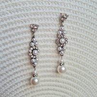 Premium Vintage Pearl Earring multicolored