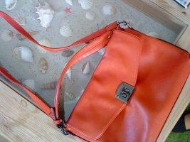 schicke orangefarbene Tasche von David Jones neuwertig