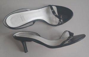 Schicke Sandaletten schwarz Gr. 37