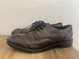 Graceland Oxfords bruin-paars