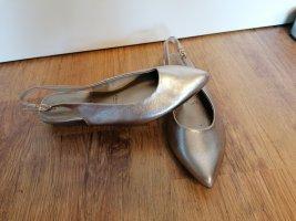 Tamaris Strappy Ballerinas bronze-colored-gold-colored