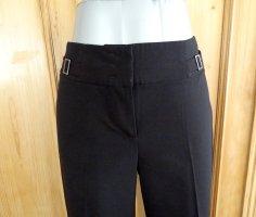 Schicke schwarze Stoffhose - weites Bein - Esprit Collection - Gr. 36