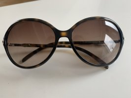 Ralph Lauren Oval Sunglasses brown-silver-colored