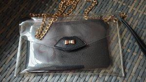 Schicke Tasche 2 in 1 * 28cm x 17 cm mit Umhängekette