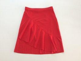 Aniston Jupe stretch rouge tissu mixte