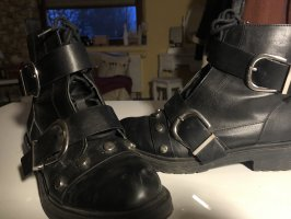 Primark Ankle Boots black-silver-colored