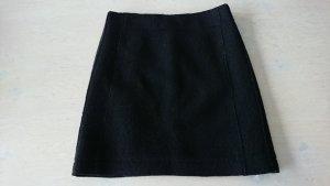 Marc O'Polo Mini rok zwart Gemengd weefsel