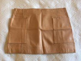 Schicker Glattlederrock von Zara