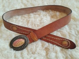 Post & Co Leather Belt multicolored leather