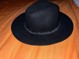 Pull & Bear Chapeau en feutre noir