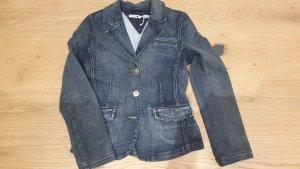 Tommy Hilfiger Blazer in jeans blu Cotone