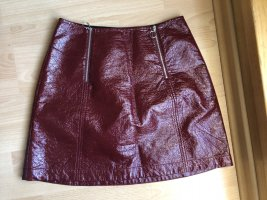Baum und Pferdgarten Miniskirt dark red-carmine polyester