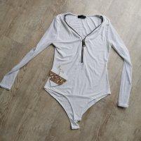 In Vogue Paris Bodysuit Blouse natural white