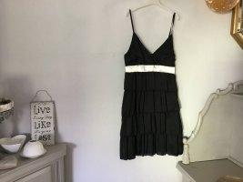Schickes Kleid Satin,Volants,Größe 36, kostenloser Versand