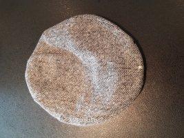 H&M Cappello con visiera nero-bianco Poliestere