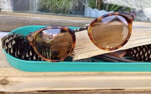 Schildpatt- Optik Sonnenbrille