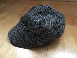 C&A Fabric Hat black-white