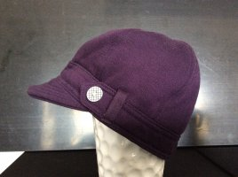 H&M Divided Visor Cap blackberry-red