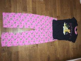 Disney Pijama gris oscuro-rosa