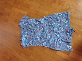 Piżama niebieski neonowy Tkanina z mieszanych włókien