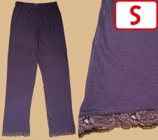 Pijama violeta azulado