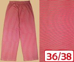 Pijama rojo-blanco