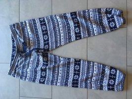 H&M Pigiama bianco-blu scuro