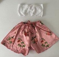 Sheinside Pijama blanco-color rosa dorado